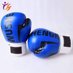 Custom Logo Hochwertige bedruckte PU-Leder Training Professional Boxen Handschuhe