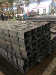 Section creuse de 12 mètres de tube/ DN200 Gi Tube structurels carré / rectangle Tube en acier galvanisé et tube sans soudure en acier