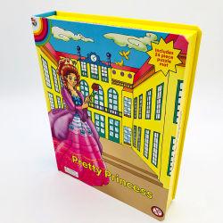 Diecuts Casebound Custom enfants Conseil de bande dessinée des puzzles livres