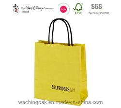 الجملة إعادة تدوير سعر جيد فاخرة هدية التسوق حقيبة الورق المخصصة قم بلف الوسائد