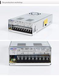 Для использования внутри помещений коммутации с одним выходом блока питания 350 Вт выходной 5V/7.5V/12V/13,5 V/15V/24V/27V/48V