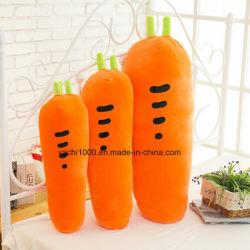 Фаршированные моркови формы мягкие подушки вышивка подушки сиденья