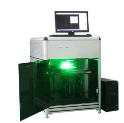 La gravure sur verre en cristal à bon marché intérieur de la machine