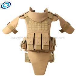 Volledige Bescherming Kevlar / Pe Kogelvrij Jack Ballistic Tactical Body Armor Vest/Armor Vest