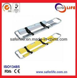 Dispositivi di pronto soccorso Stretcher regolabile con cucchiaio in lega di alluminio per salvataggio di emergenza