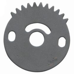 O indicador da válvula 3 do lado do indicador de posição da placa da alavanca