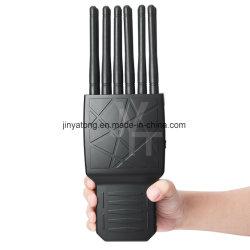 En primer lugar mundial de las antenas de 12 bandas de lleno en una sola señal de celular Jammer el bloqueo de señal RF WiFi GPS