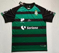 1819 Santos carro preto verde Football Jersey T-shirts