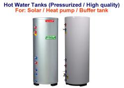 Стабильной солнечной горячей водой резервуар для хранения и надежные горизонтальный резервуар для воды с возможностью горячей замены