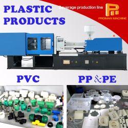 Moulage par injection de pipes et de joints de PVC faisant la machine