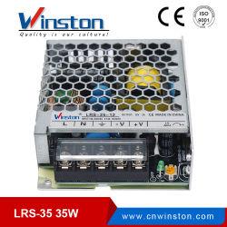 35W SMPS kiezen Output AC 220V aan van de LEIDENE van gelijkstroom 5V 12V 24V 36V 48V gelijkstroom de Levering Macht van de Omschakeling met Ce, RoHS (lrs-35) uit
