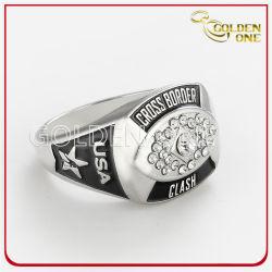 Het Toejuichen van het Team van de Sport van de Kom van de Juwelen van de Douane van de Gift van de bevordering de Creatieve Super Ring van de Kampioen van het Metaal van het Kampioenschap van de Vriendschap