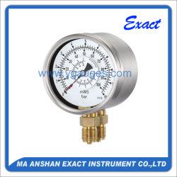 La presión diferencial de presión Gauge-Special Gauge-Used para medir la diferencia de presión