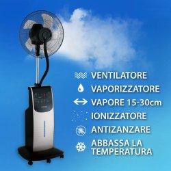 Im Freienwasser-Spray-Standplatz-Ventilator, der stehenden Misting-Ventilator SAA/CB/Ce abkühlt