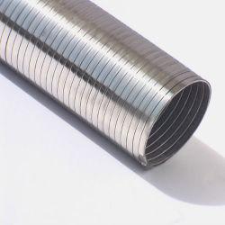 Stripwound ha collegato il tubo flessibile dell'acciaio inossidabile