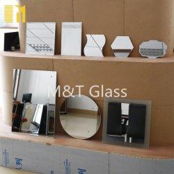 1mm-6mm Clear Silver miroir verre peut Forme personnalisée
