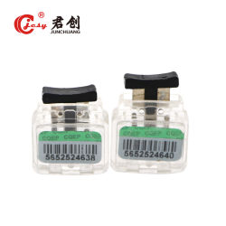 Jcms002 transparente de plástico de fixação da vedação do medidor de água