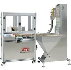 Couvercle en plastique du bouchon de bouteille automatique Soins De La Peau doublure de boulons de couvercle de l'ouate de cap de la machine La machine