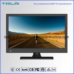 TV LED da 24 pollici a bassa potenza ad alta luminosità in vendita a caldo DC12V DVB-T C T2 S2