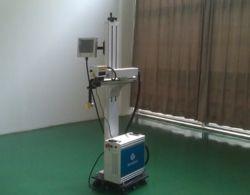 machine de marquage au laser de vol en ligne pour les tuyaux en PVC/Non-Metal PPR-30W