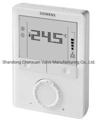 A Siemens Rdg160kn Quarto Termostato com comunicações Knx, AC 24 V, para a bobina do Ventilador e Unidades de aplicação universal, Bomba de calor, ventilador (1 / 3 de velocidade, DC)