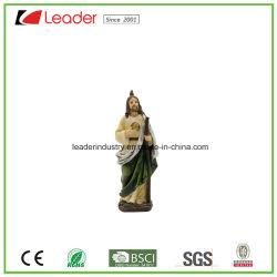 Polyresin religiosos San Judas Figurita para el Hogar y Jardín Decoración