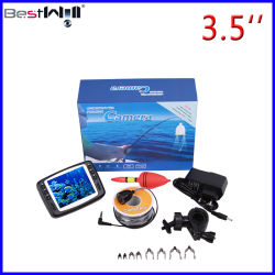 3.5'' Buscador de Peces de la pantalla digital de vídeo de pesca submarina y el hielo de la cámara de 7H