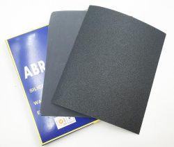 Sec et humide du papier abrasif de carbure de silicium de sable pour le bois en métal de la peinture de verre auto le polissage et le ponçage