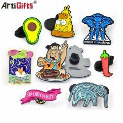 Commerce de gros de haute qualité Custom Metal Craft décoration de bon marché des produits promotionnels multifonctionnel de l'axe avec l'émail doux