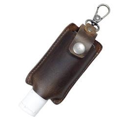 Étui en cuir de haute qualité pour l'Huile essentielle 30ml Hand Sanitizer bouteille
