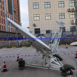 هوائي هوائي هوائي قابل للنقل عبر الأقمار الصناعية يبلغ طوله 8 أقدام