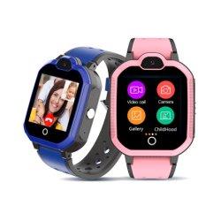 SOS 어린이 안티-로스트 알람 시계 원격 모니터 스마트워치 휴대 전화 4G Smart Watch Android SIM 카드를 시청하세요