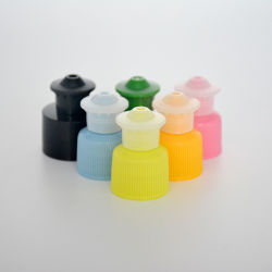 24mm 28mm chapeau push-pull, Sport Bouchon en plastique avec de la chaleur ou revêtues de chemise de scellé par induction