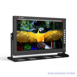 17 인치 FHD 12g SDI, 비디오 촬영기 필름을%s 4K HDMI를 가진 직업적인 방송 모니터