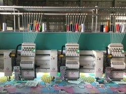 20 têtes de haute qualité multi - Aiguille Multi - couleur à plat et Machine à broder de chenille