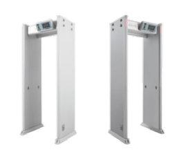 33 pulgadas de pantalla LCD de 7 zonas de paseo por el detector de metales en el control remoto por infrarrojos