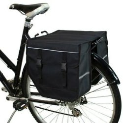 Sacchetto impermeabile del ciclo della bicicletta della bici del sacchetto dei Panniers del doppio della bicicletta per la cremagliera posteriore 4