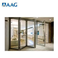 O alumínio/Pátio de alumínio Bifold portas dobráveis