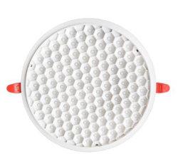 Honingraatloze 12W 18W 24W verstelbare ronde LED-paneelverlichting Dimbare verlichting voor thuiskantoren