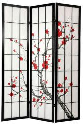 Los cerezos en flor Shoji Pantalla (WWF078)