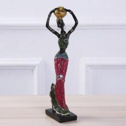 Signora africana Crafts del Figurine della resina dei prodotti di vendita calda