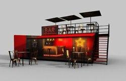 El año 2020 Popular en el mundo de las tiendas contenedor Cafetería Bar Cafetería para la venta