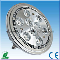 AC/DC12V AR111 LED spotlight/G53/Lampe LED de lumière LED 5W/7w/9w