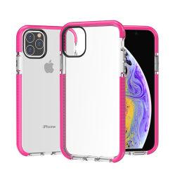 Factory Direct zwei-Farben TPU Soft Smartphone Zubehör für Xiaomi Huawei Samsung iPhone Anti-Drop TPU Handytasche