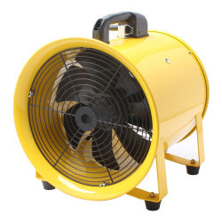 """Ventilazione portatile da 8"""" e 200 mm per la sostituzione dell'aria"""