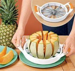 Cantaloupe、Honeydew、またはWatermelonのメロンSlicer Slices 12 Perfect Wedges