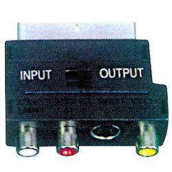 Аудио-видео адаптер Разъем RCA - 21контакт разъема Scart