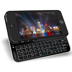 Het zij Geval van het Toetsenbord van Backlight Bluetooth van de Misstap voor iPhone5