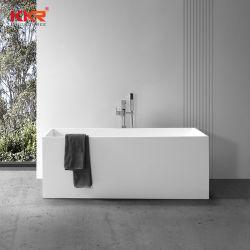 20 ans Factory Cupc baignoire pour Star Hotel Corian acrylique Surface solide de baignoires autostable de trempage pour 2 personnes baignoire