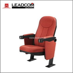 Leadcomのファブリックによって装飾される固定背部映画館の家具(LS-626EN)